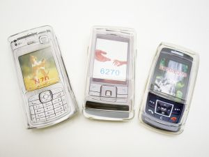 Crystal Hard Cover Case Samsung SGH-E250 / E258